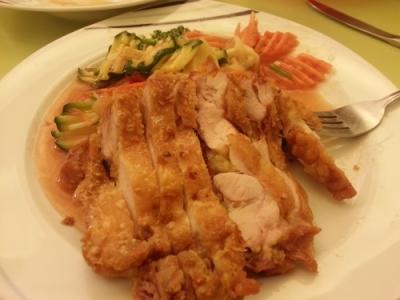 Gebackenes Huhn mit Gemüse