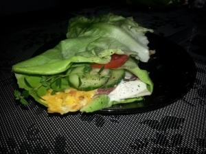 Salat Wrap