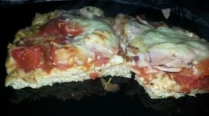Pizzaschnitte mit Thunfischboden